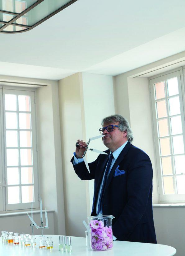 Jacques Cavallier, perfumer nhà Louis Vuitton, tại Les Fontaines Parfumées