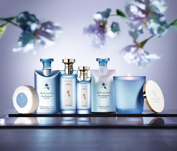 Eau Parfumée au Thé Bleu